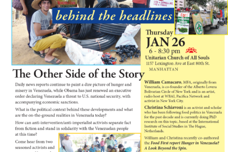 Venezuela Behind The Headlines: The Other Side Of The Story