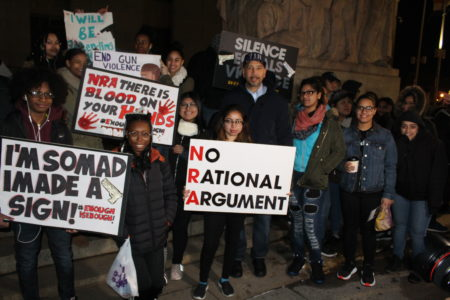 """Bronx Students Depart To """"March For Our Lives"""""""