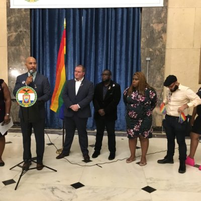 "BP Diaz & CM Gibson Host ""National Coming Out Day"" Celebration"