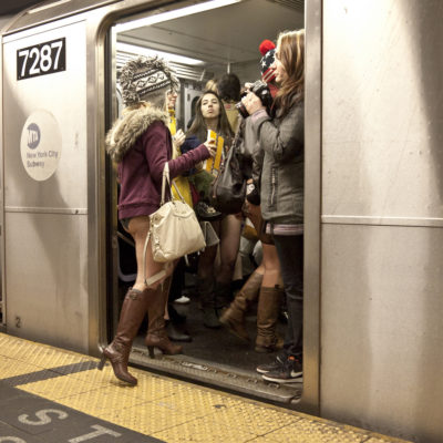 International No Pants Subway Ride Day