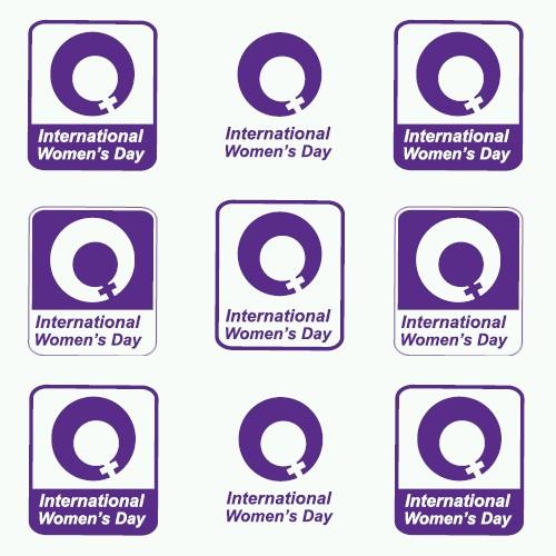 International Women's Day logo.