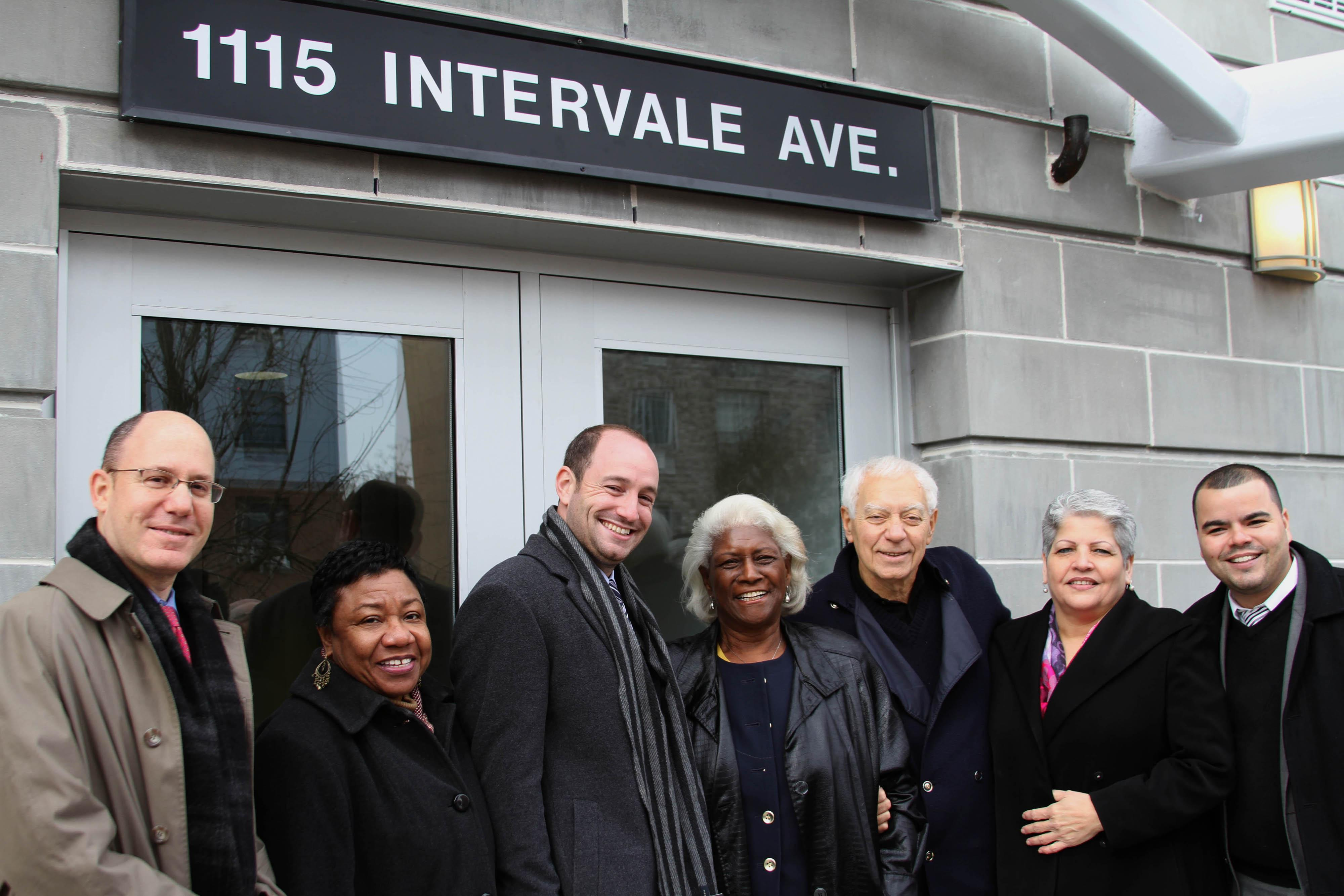 Ribbon Cutting Ceremony at Intervale Senior Residences