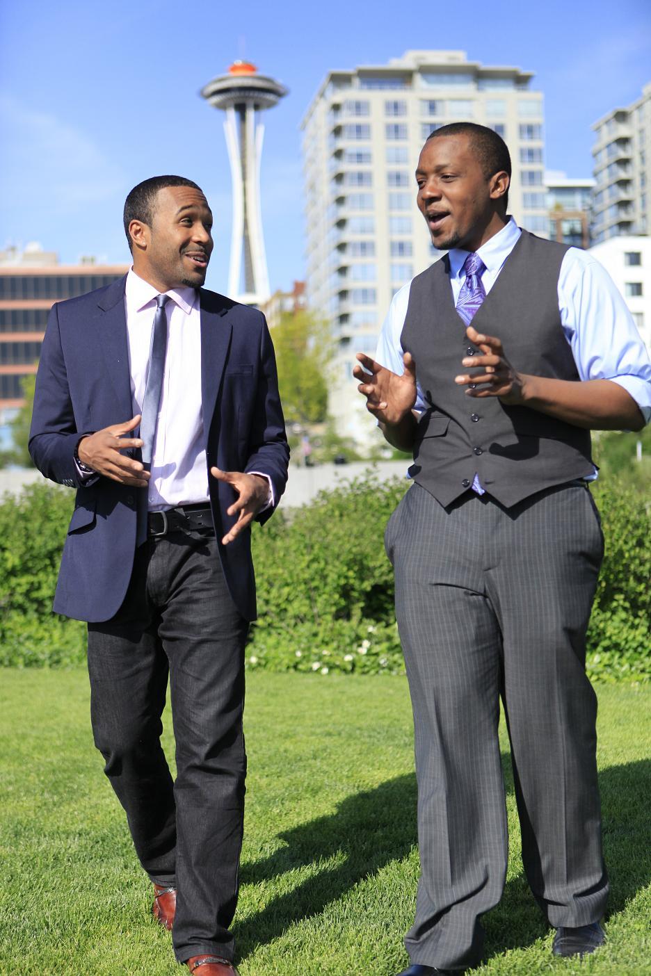 Jaebadiah Gardner and GG's Tech Manager, Kendall Morgan