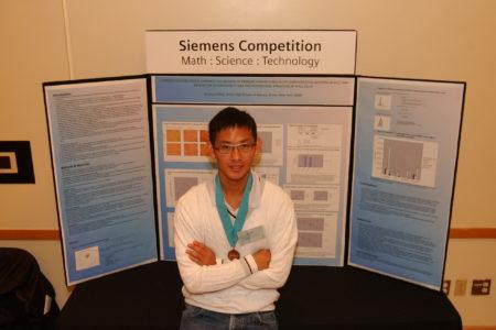 Jason Shieh, Bronx Sci Regional Finalist
