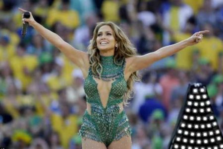Jennifer Lopez Takes Center Stage At 2014 World Cup Opening Ceremony