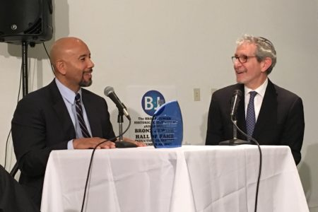 "BP Diaz Hosts ""Bronx Jewish Hall Of Fame"" Ceremony"