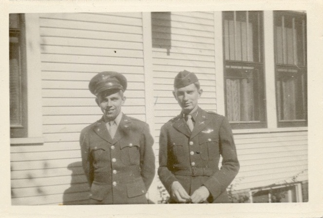 Lt. Jospeh E. Roseberry and brother Raymond