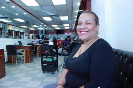Bronx Council Candidate Corners Beauty Salon Vote