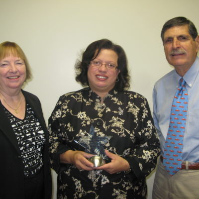 A. Thomas Gets Best Practices Award