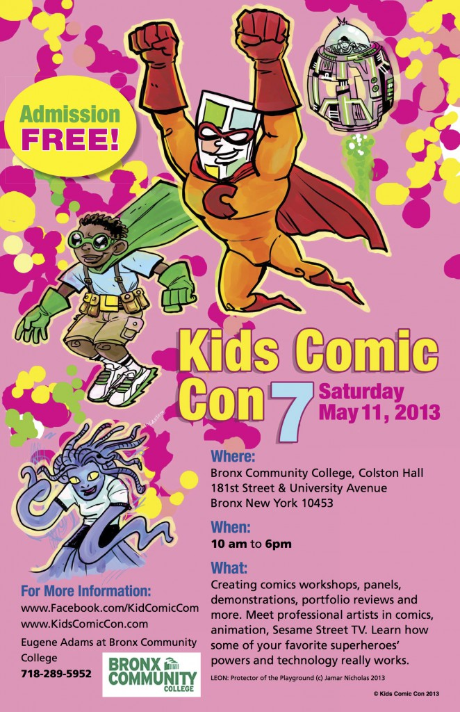Kids Comic Con Returns To BCC