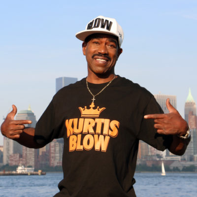 Kurtis Blow To Chair The Universal Hip Hop Museum In Bronx