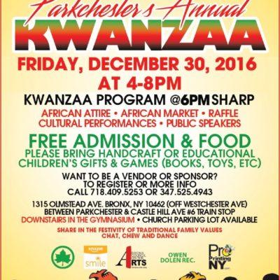 Parkchester's Annual Kwanzaa Celebration