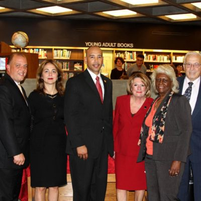 Kathy Zamechansky Honored By Ruben Diaz, Jr.