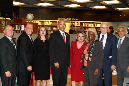 Kathy Zamechansky Honored By Ruben Diaz, Jr.