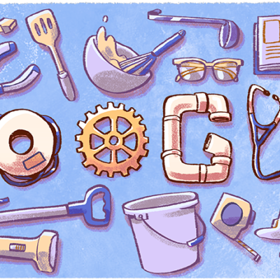 Google Doodle Celebrates America's Workers On Labor Day 2018