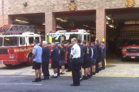 Remembering Lost Friends & Colleagues At Ladder 19 In Morrisania