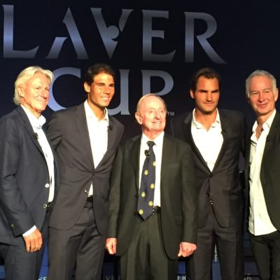 Tennis Greats Discuss The Laver Cup