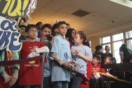First LEGO League Qualifier Held In Bronx