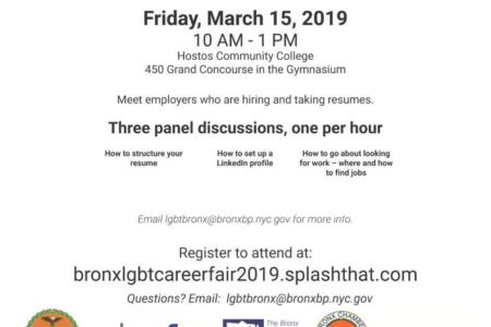 2019 Bronx LGBT Career Fair