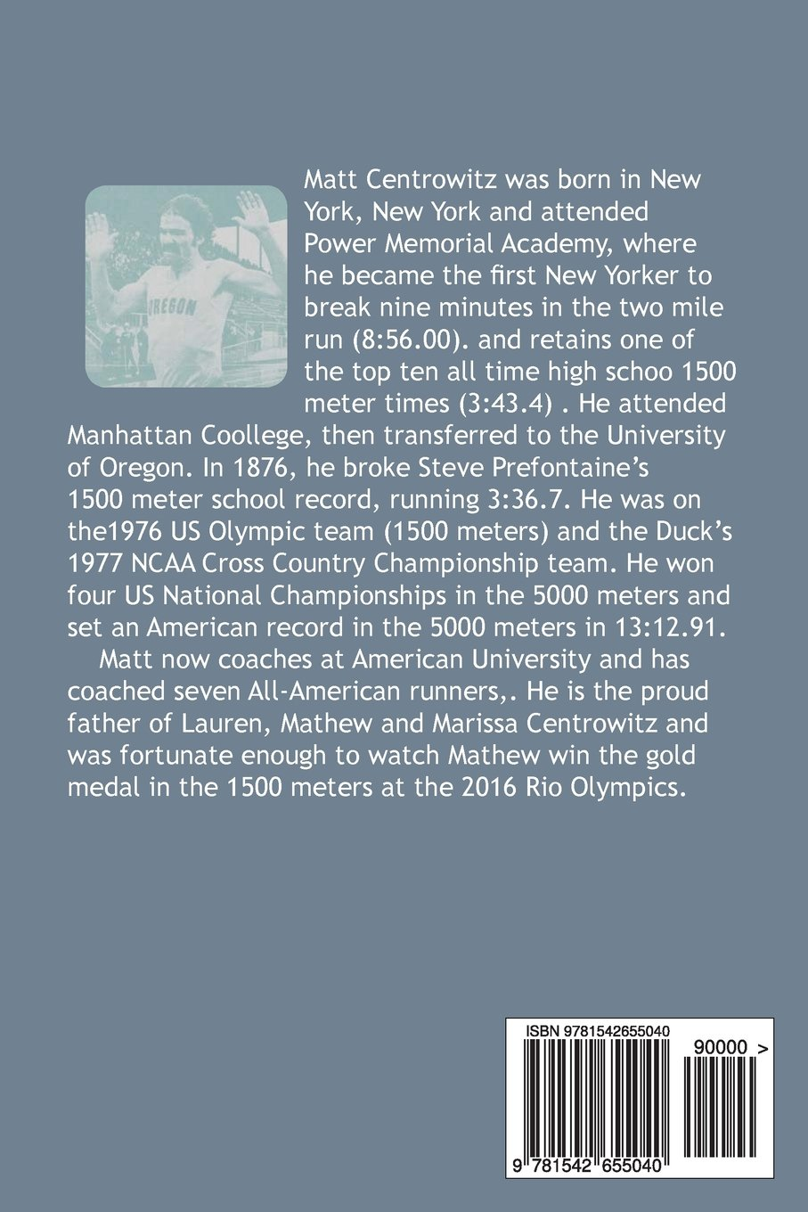 """Read Chapter Two of Matt Centrowitz's New Book """"Like Father, Like Son"""""""