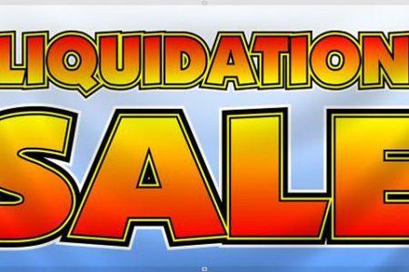 Divorce Liquidation Sale