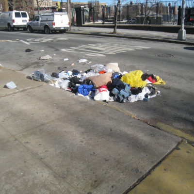 Bronx Litter Hotspots Are Stains Where, Often, No One's To Blame