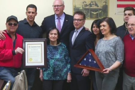 Bronx War Veteran Lou Durante Honored Posthumously