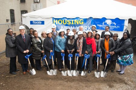 Start Of Construction On A New Energy-Efficient Supportive Housing Development