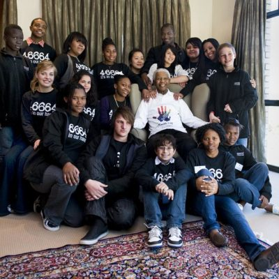 NYC Students Meet With Mandela