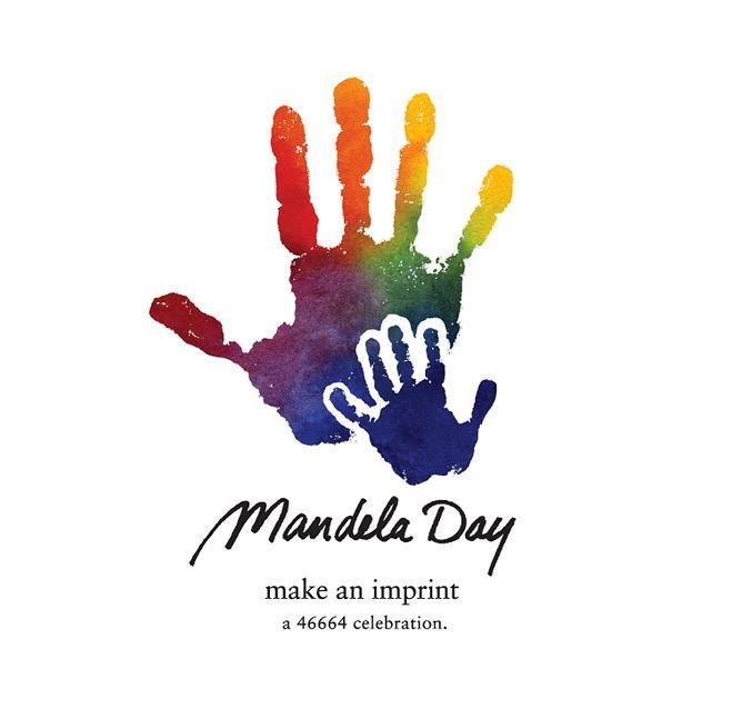 Mandela Day logo.