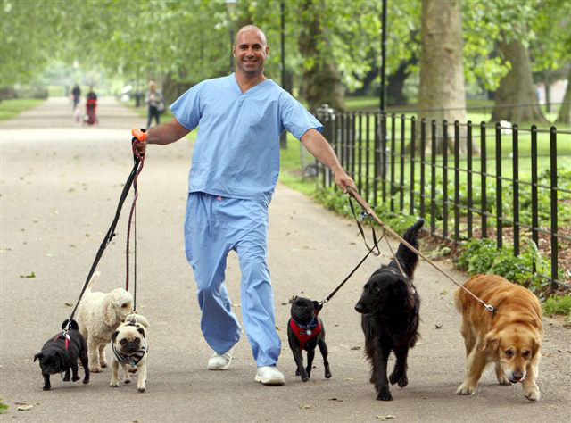 Marc Abraham and his patients.