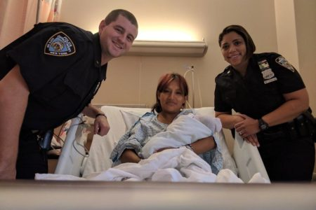 NYPD Officers Help Bronx Mom Deliver Baby Girl In Bathroom Of Her Home