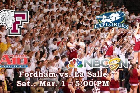 Fordham Basketball Hosts La Salle