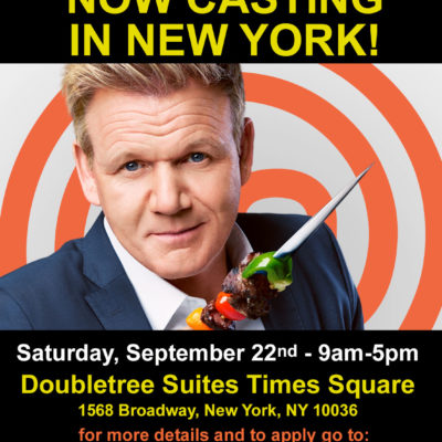 MasterChef Casting In New York City