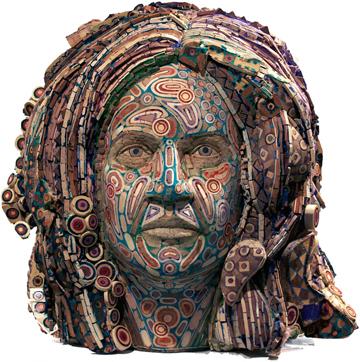 Michael Ferris, Jr.'s sculpture