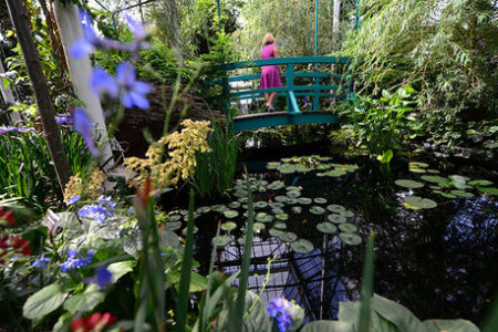 Claude Monet's Garden Replanted In Bronx