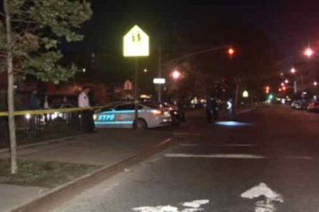 Gunman Struck And Killed By Minivan