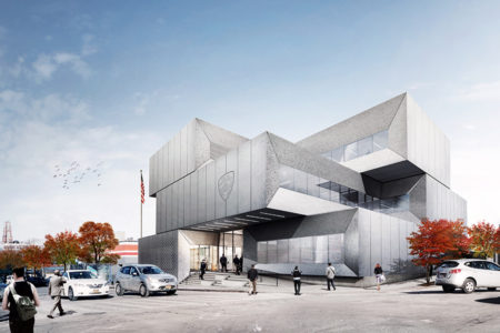 City Files Plans For $50M South Bronx Police Station Designed By Bjarke Ingels