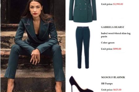 """Democratic Socialist"" Alexandria Ocasio-Cortez: A ""Hypocrite"" Wearing A $3,500 Outfit To Pose For A Magazine Shoot?"