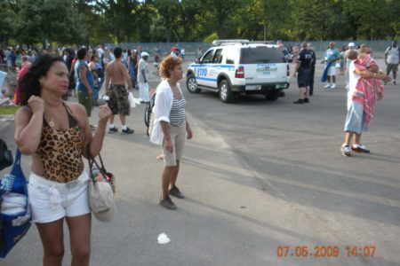 Police Brutality At Orchard Beach?