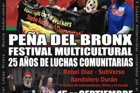 Peña del Bronx Celebrates 25 Years Of Struggle