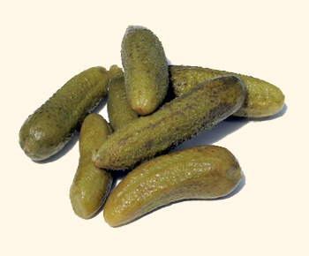 Pickles... naturally...