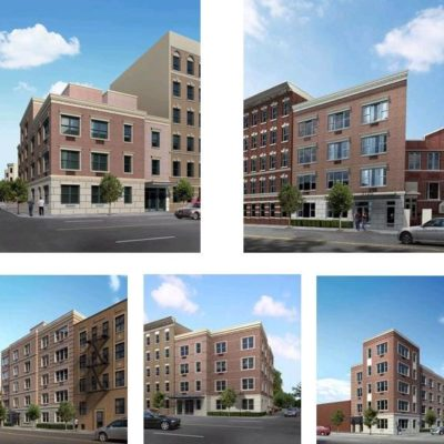 Groundbreaking Ceremony For Bronx Affordable Housing Complex