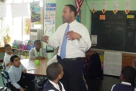 Bronx Borough President Visits PS 121