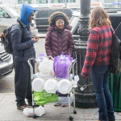 Free Food For Black People – Black Racism Against Whites In Bronx