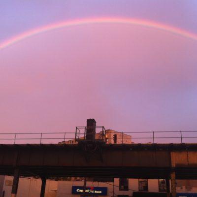 Rainbow Shines Over Pelham Bay
