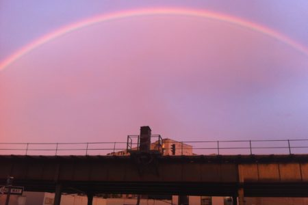 Rainbow Shines Over Pelham Bay