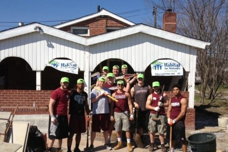 Fordham Football Participates In Community Service Events