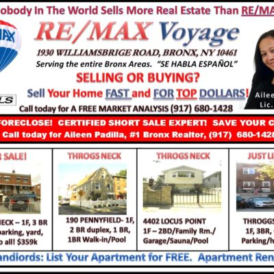 RE/MAX Bronx Real Estate Listings