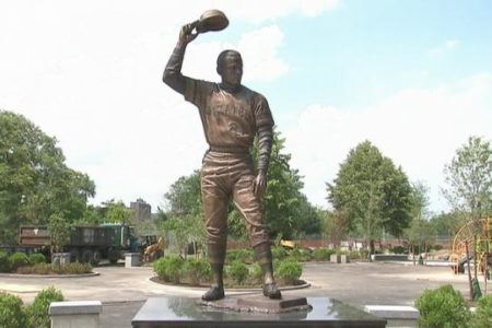 Clemente Statue Unveiled In Bronx Park
